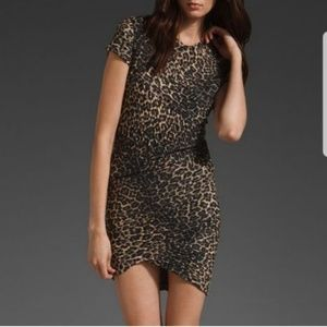 Designer Animal Leopard Print Kaitlyn Dress